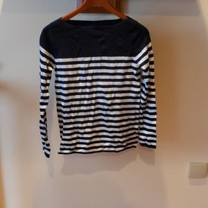 Gap Boatneck Style Striped Sweater